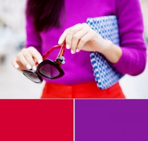 Red and Red-Violet Combination