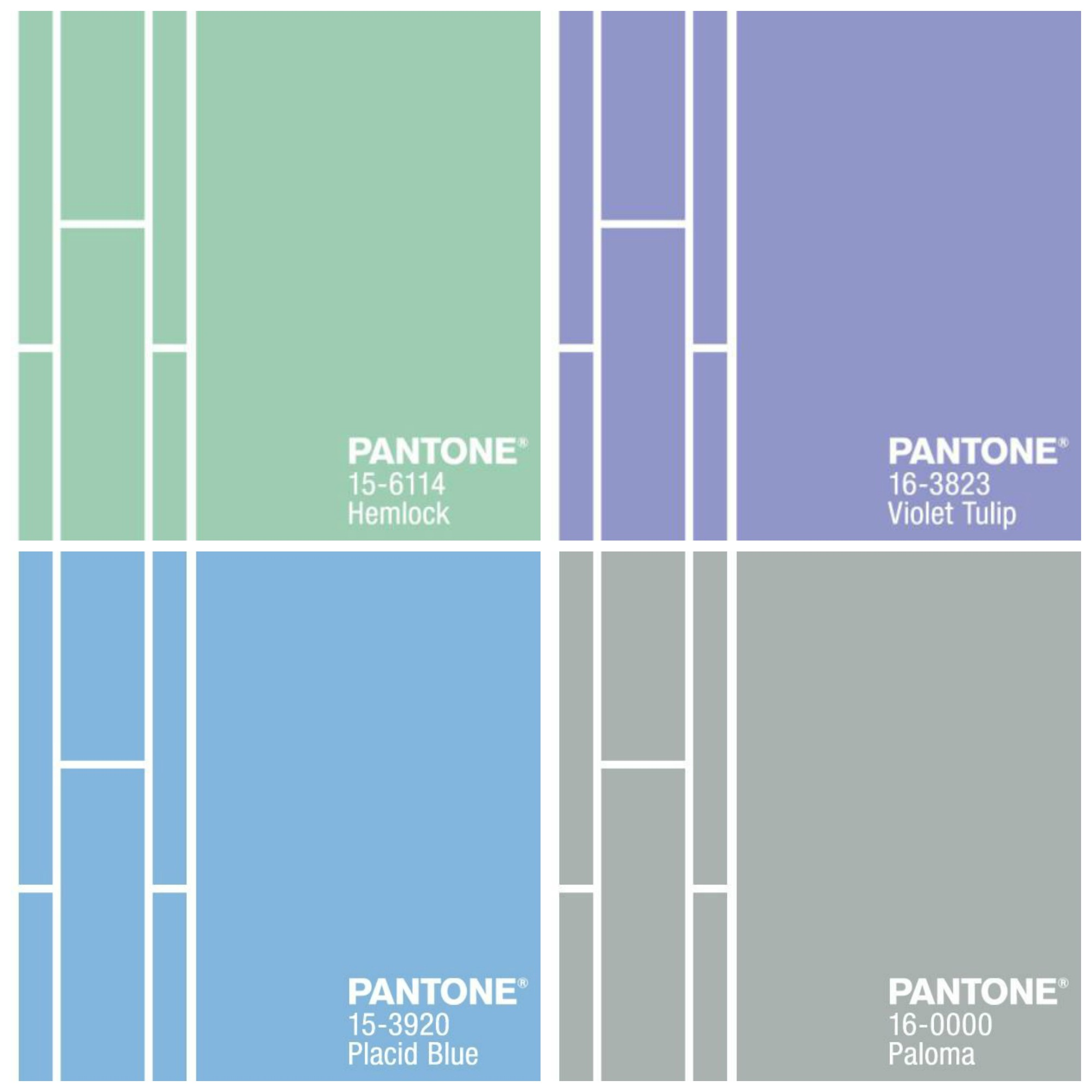Pantone Color Combinations 1