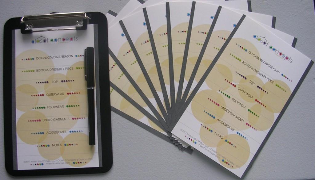Closet Concepts Cards
