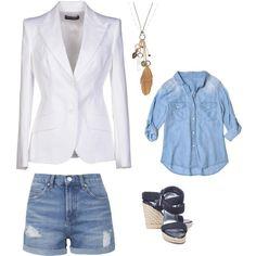 White Blazer Look iYi 1