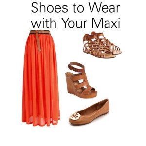 Shoes to Wear with Your Maxi